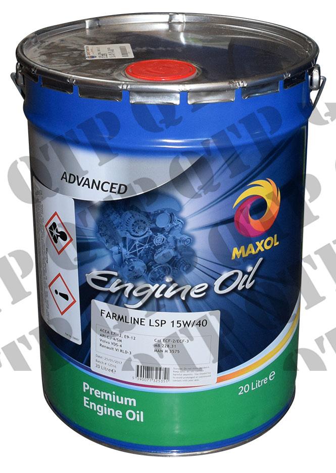 Oil 20 Ltr. Sirios 15W/40 E7 Maxol