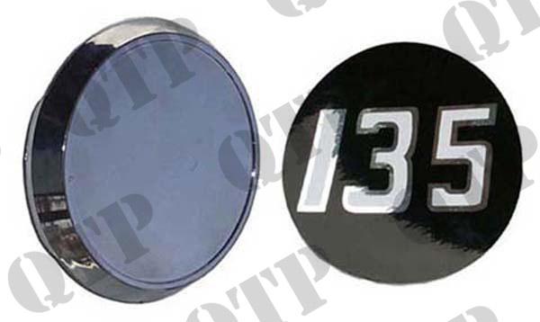Badge 135 Original c/o Sticker