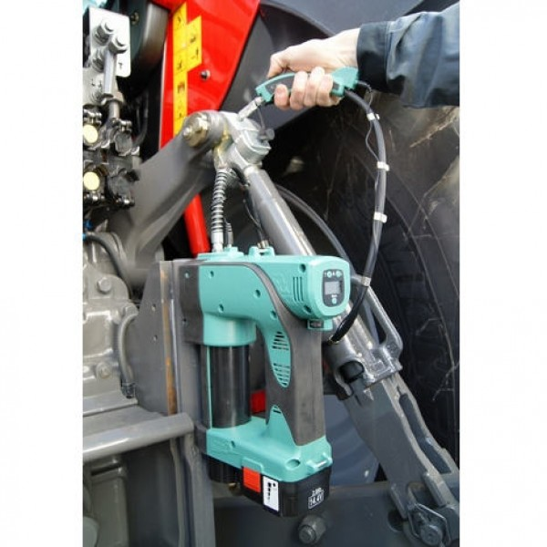 Electric Grease Gun >> Electric Grease Gun With Magnetic Atachment 2 Foot Grease Pipe With Different Nipple Types For Flexibility Can Use Standard Grease Cartridge