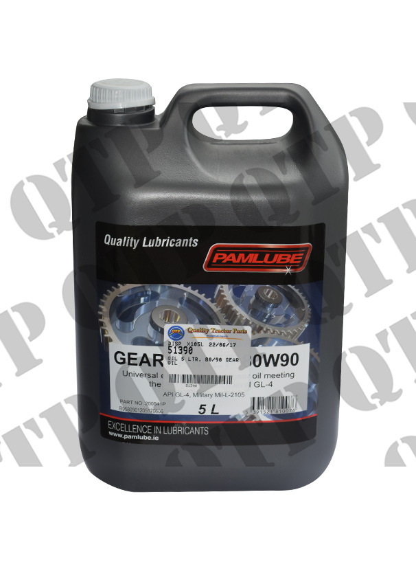 Oil 5 Ltr. 80/90 Gear Oil