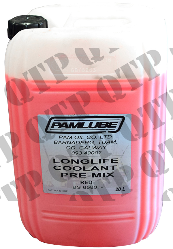 Coolant Red Long Life 20 Litre
