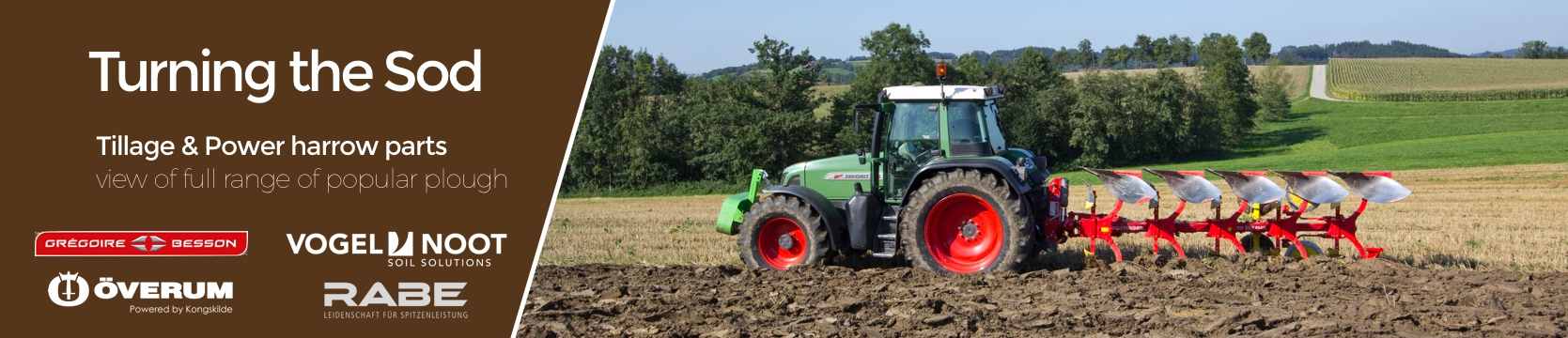 Plough Parts - tillage and power harrow parts